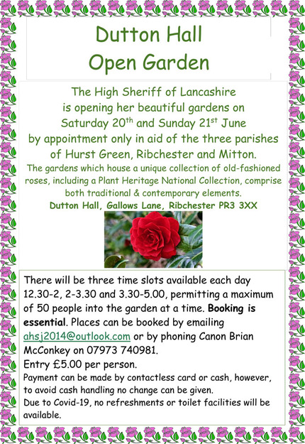 Open Garden Poster - all text in post